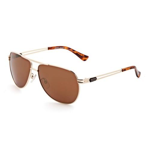 Золотые мужские солнцезащитные очки Mario Rossi модель MS 04-041 02
