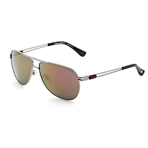 Серебряные мужские солнцезащитные очки Mario Rossi модель MS 04-041 06