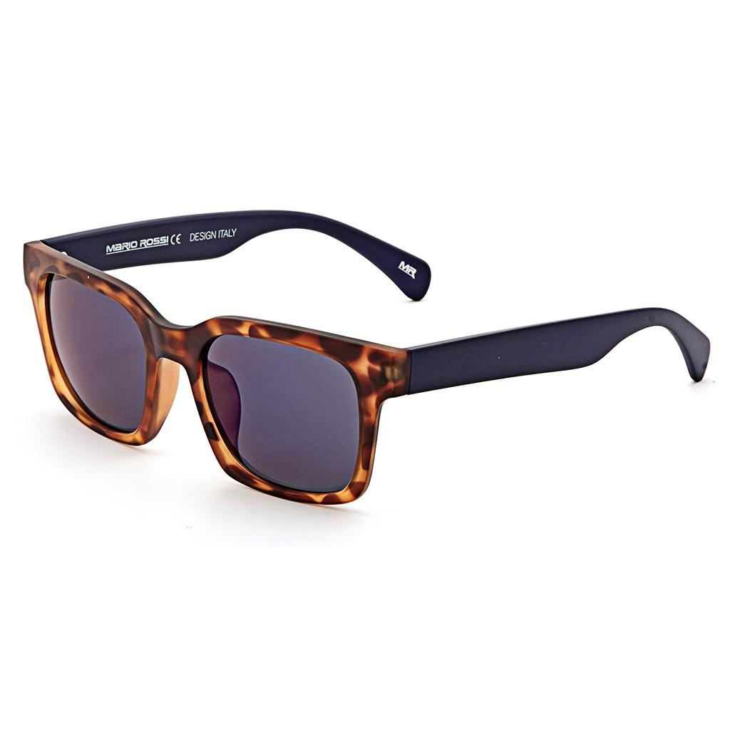 Коричневые унисекс солнцезащитные очки Mario Rossi модель MS 04-047 50P