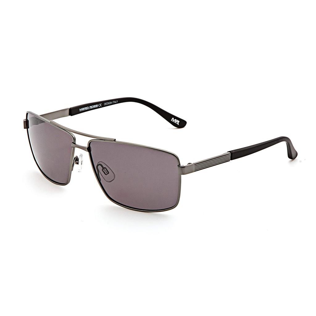 Серые мужские солнцезащитные очки Mario Rossi модель MS 04-049 06