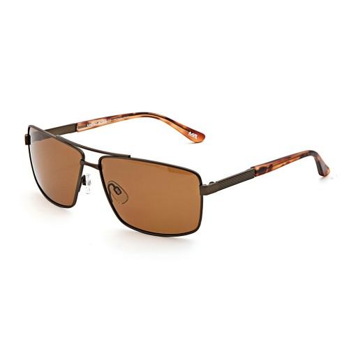 Коричневые мужские солнцезащитные очки Mario Rossi модель MS 04-049 08