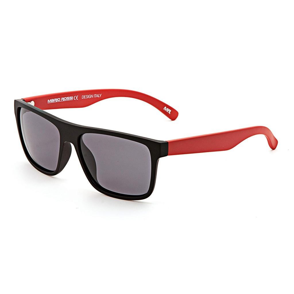 Красные унисекс солнцезащитные очки Mario Rossi модель MS 04-050 17P