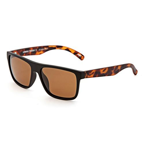 Черные унисекс солнцезащитные очки Mario Rossi модель MS 04-050 18P