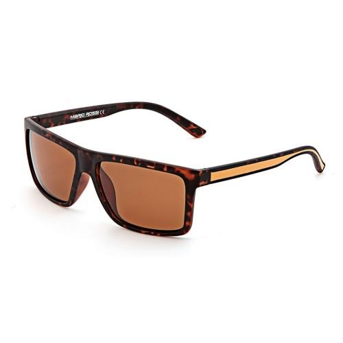 Коричневые мужские солнцезащитные очки Mario Rossi модель MS 05-021 50P