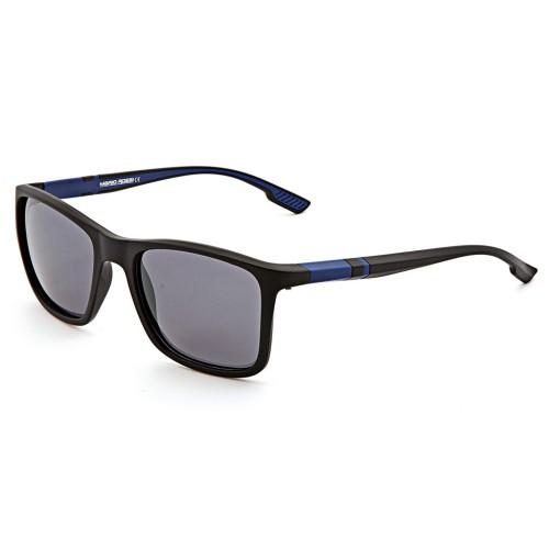 Черные мужские солнцезащитные очки Mario Rossi модель MS 05-022 18P