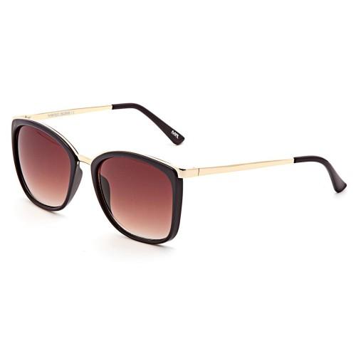 Черные женские солнцезащитные очки Mario Rossi модель MS 05-031 13P