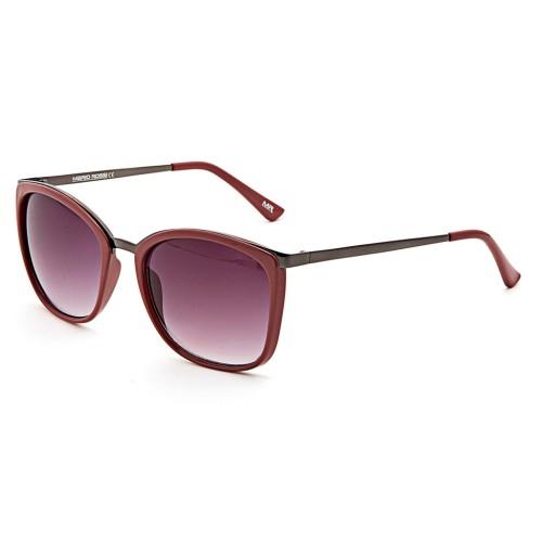 Бордовые женские солнцезащитные очки Mario Rossi модель MS 05-031 21P
